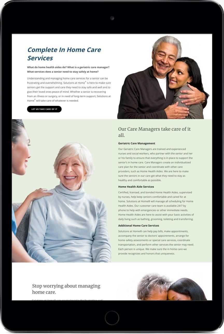 Senior Healthcare Marketing